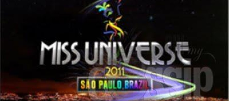 Brazil Credicard Hall: Miss Universe 2011