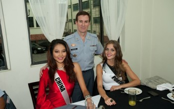 Miss Universe 2011 @ Sao Paulo State Military Police General Command Headquarters