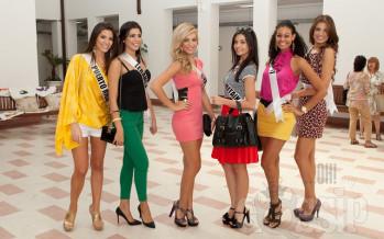 Miss Universe 2011 @ Escola de Moda in São Paulo, Brazil
