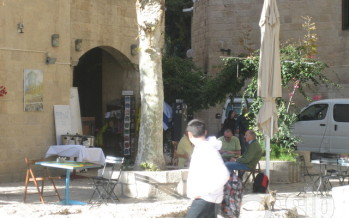 ISRAEL: The Hurva Synagogue + streets of Jewish Quarter