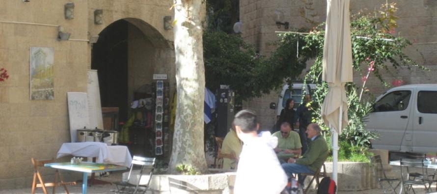ISRAEL: The Hurva Synagogue + streets of Jewish Quarter