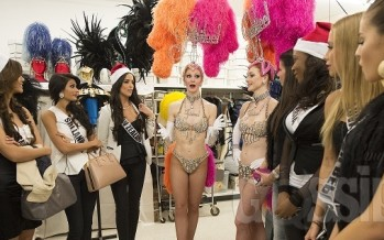 Miss Universe 2012: Jubilee Show at The Bally's Las Vegas