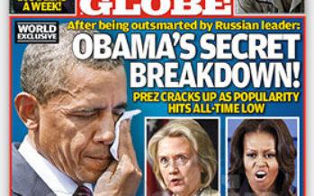 Barack Obama has secret breakdown?