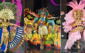 Miss Universe 2013: National Costume contest at Vegas Mall (Vol1)