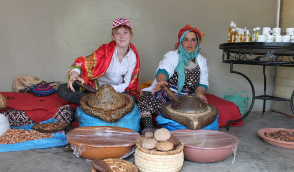 "Moroccan rarity – Argan oil! A visit to ""Khmissa Argan"" representational store in Essaouira + PHOTOS!"