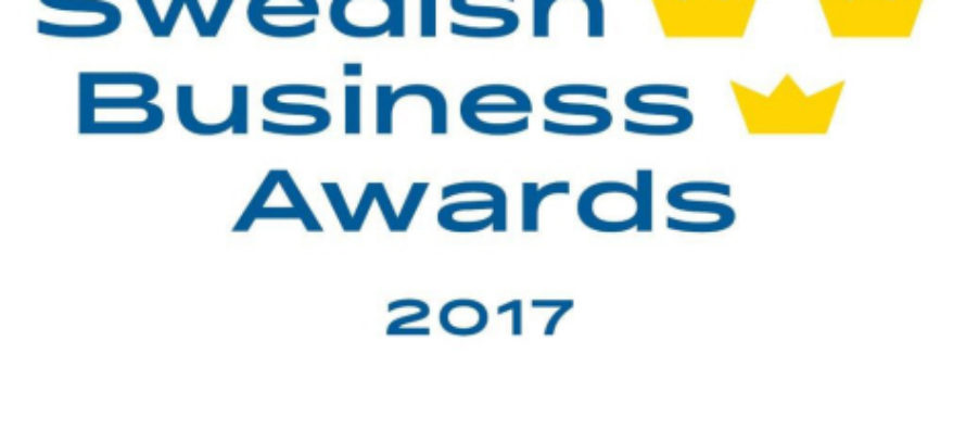 Swedish Business Awards 2017 – winners announced