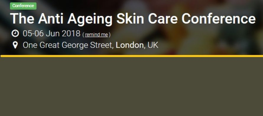 Anti-Ageing Skincare Conference 2018