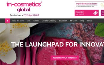 in-cosmetics Global Amsterdam 2018