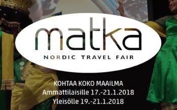 Matka Nordic Travel Fair 2018