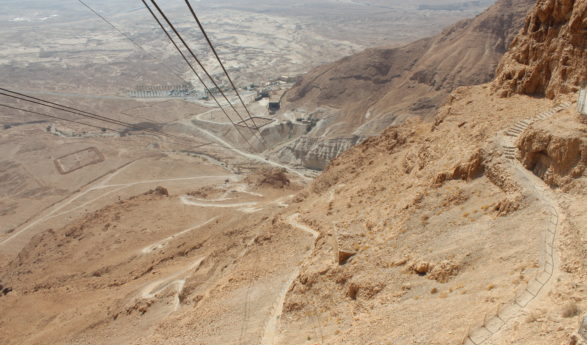 Israeli travel blog: Masada – the famous Jewish symbol of resistance to the Roman occupation