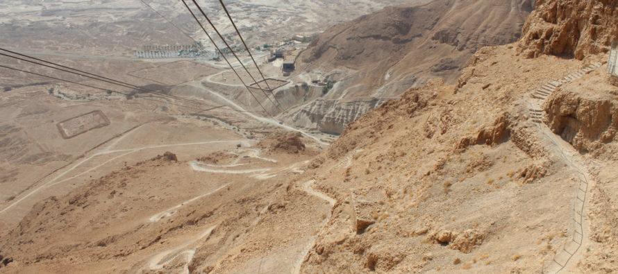 Israeli travel blog: Masada – the famous Jewish symbol of resistance to the Roman occupation