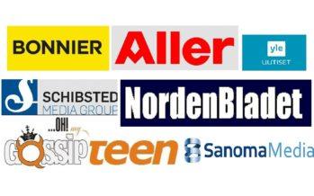 TOP 10 Scandinavian media groups – Bonnier, Sanoma, MTG, Schibsted, Egmont, Aller, YLE, Otava, Alma, NordenBladet