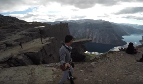 Popular tourist destinations in Norway are now available on Google Street View Nature