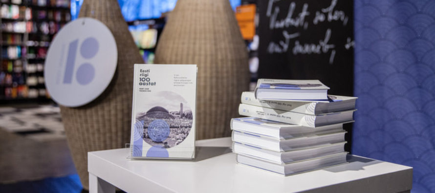 First book of Estonia 100 series introduced – Laar and Hiio introduced the first book on Monday at the Apollo cinema in Tallinn's Solaris center