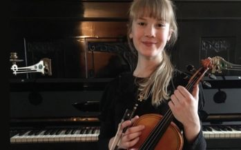 Helena-Reet: Today was a national violin contest – My daughter, 11-year-old Estella Elisheva is officially the third best violinist in Estonia!