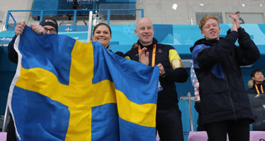 Sweaden´s Crown Princess attends the Winter Paralympic Games