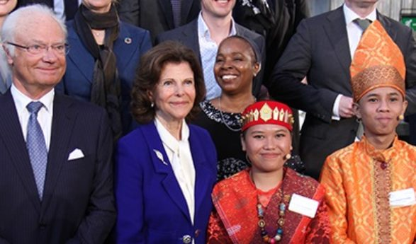 The Global Child Forum 2018 was held at the Royal Palace of Stockholm