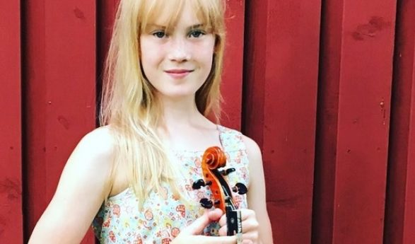 22 FAMOUS VIOLINISTS Offer Their Advice. The youngest – 12-year-old Scandinavian violinist Estella Elisheva: I would definitely love to test different violins in the future and hold the famous Stradivarius and other masterpieces