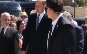Prince William begins first British royal Israel visit by honouring Holocaust victims