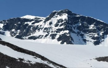 Swedish scientists: Sweden's Highest Peak, a Melting Glacier, is no longer the Nation's Tallest