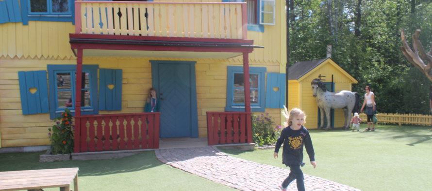 Helena-Reet: Scandinavian theme parks – with children in Astrid Lindgren's world in Vimmerby, Sweden + BIG GALLERY!