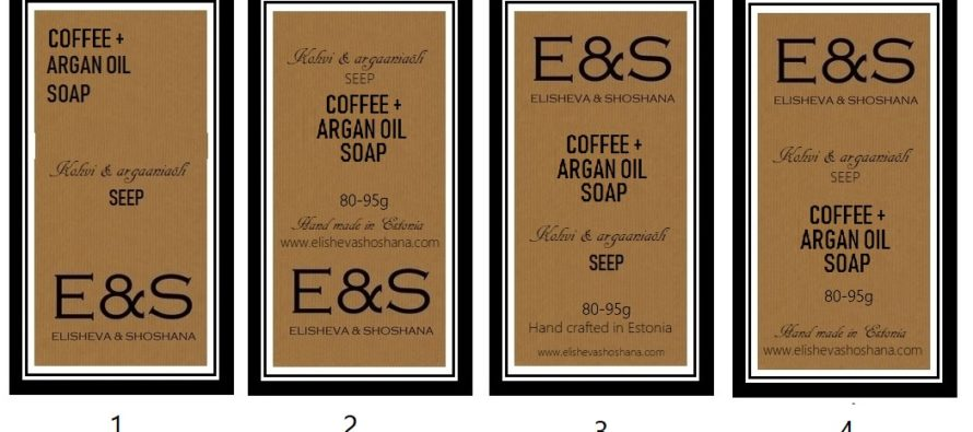 Helena-Reet: Elisheva & Shoshana product design – producing soap, labels, recipes