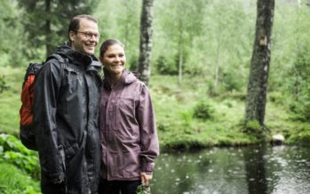 Swedish Crown Princess Victoria and Prince Daniel of Sweden attend Gen Pep Forum
