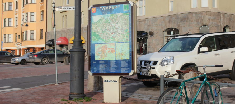 Tampere city center – East or west?