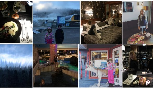 Helena-Reet: With children on a road trip around Finland (VOL6 – Levi Hotel SPA in Sirkka, restaurant Kekäle, magnificent nature, ski slopes, etc) + MANY PHOTOS!