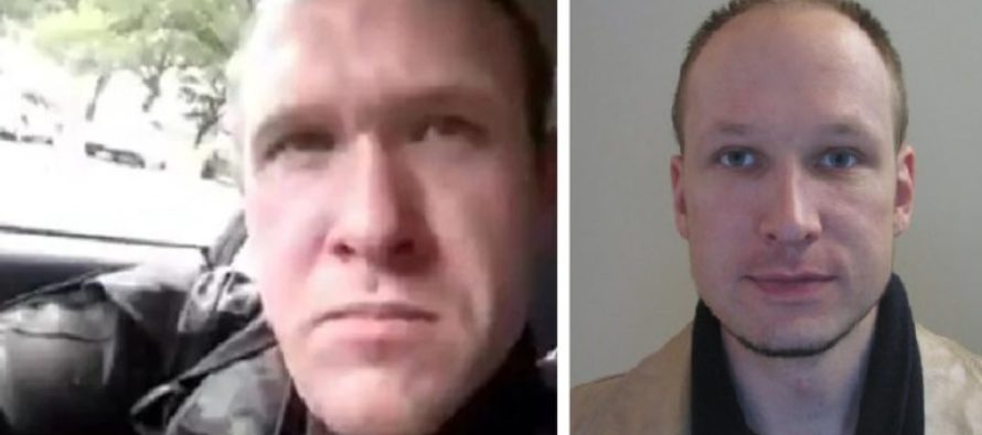 New Zealand terrorist Brenton Tarrant had contact with Breivik in Norway