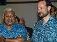 Fiji asks Crown Prince Haakon for help – against Norway