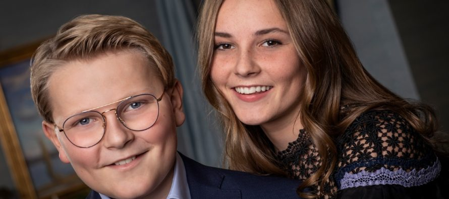 The ROYAL teenagers who will one day assume the throne
