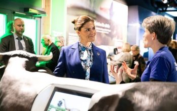 Crown Princess Victoria opens Baltic Sea Science Center