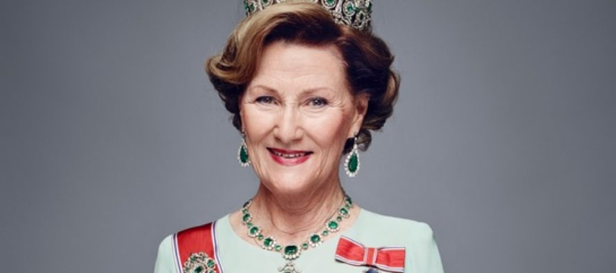 Queen Sonja of Norway is this year's protector of NRK's charity broadcast