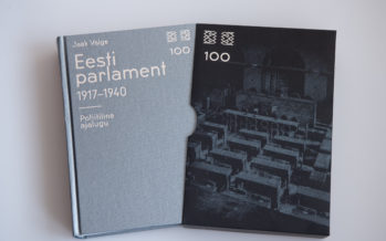 The Riigikogu and the National Library are holding a presentation for a book about the history of the parliament