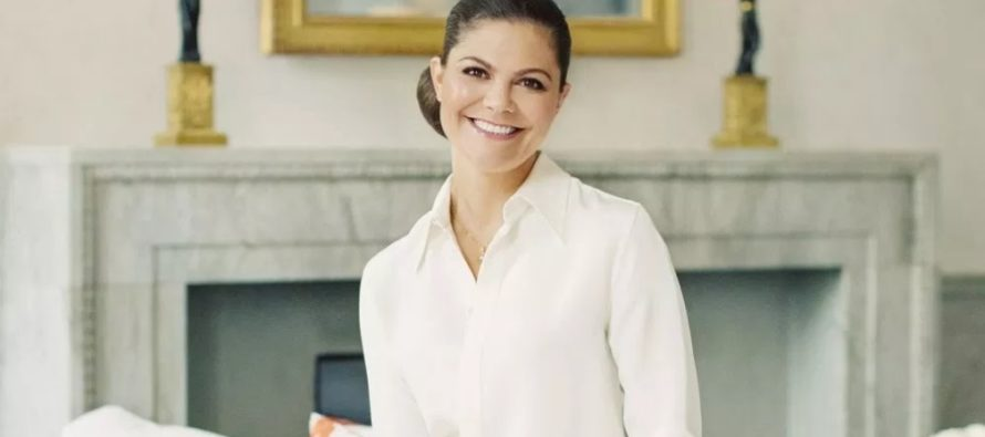Crown Princess Victoria of Sweden comments on Baby Sussex