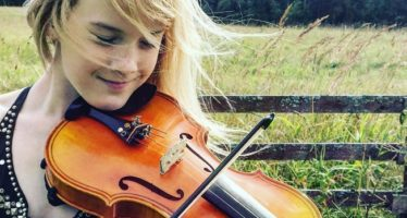 12-YEAR-OLD Estonian violinist Estella Elisheva gives two concerts in Japan