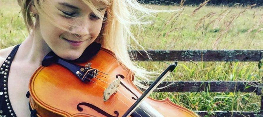 12-YEAR-OLD Estonian violinist Estella Elisheva gives two concerts in Japan