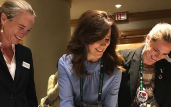 Crown Princess Mary of Denmark and Princess Mabel of Orange Nassau attended the Women Deliver Conference