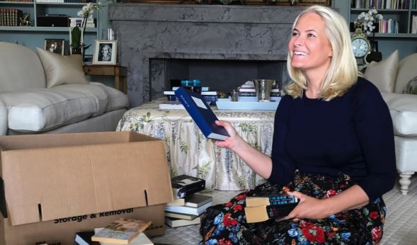 Crown Princess Mette-Marit of Norway is publishing a book to help raise the profile of Norwegian arts