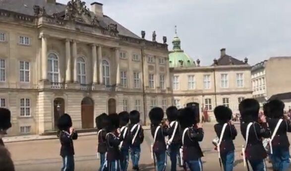 Denmark's main royal residence, Amalienborg Palace, increases terror preparedness
