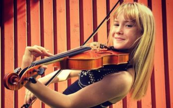 13-year-old Estonian violinist Estella Elisheva about concerts in Japan: Now is time to start writing also my own music