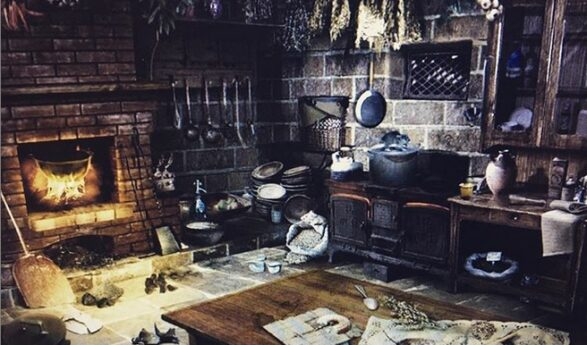 "Helena-Reet: We apply for Estonian National Museum's ""Own exhibition 2020"" contest with the idea ""Our domestic witch kitchen"""