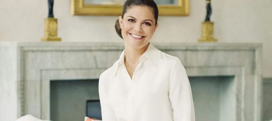 Sweden: Crown Princess Victoria attends People and Culture convention in Eskilstuna