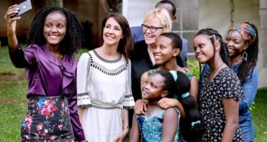 Denmark: Princess Marie meets climate activist Vanessa Nakate as she ends trip to Uganda as Patron of DanChurchAid + PHOTOS!