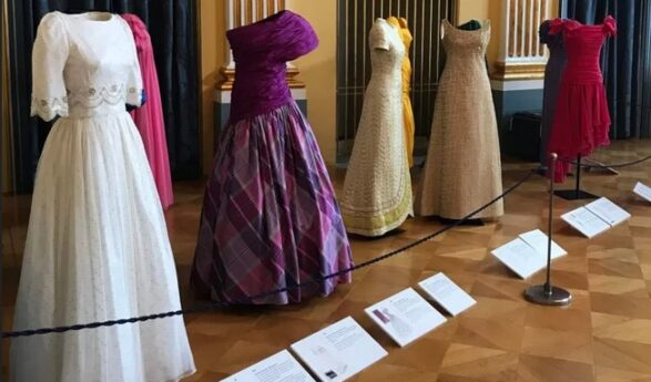 Denmark: Princess Benedikte's dresses go on display at the Amalienborg Museum