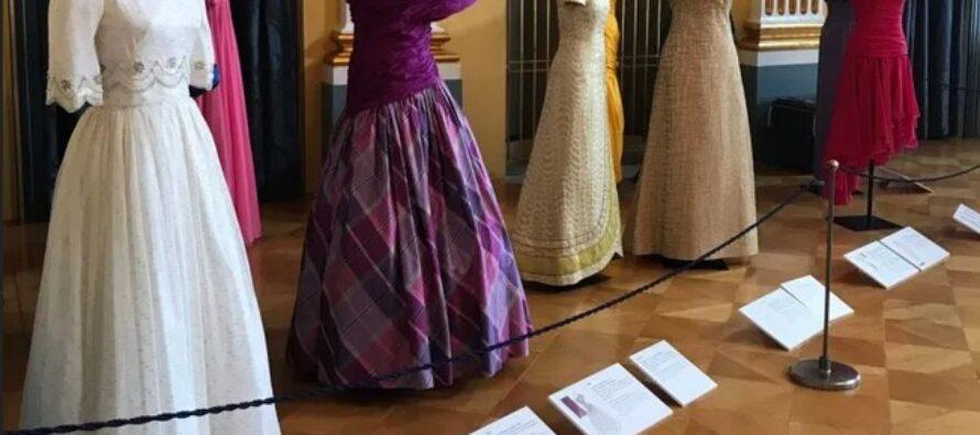 Denmark: Princess Benedikte's dresses go on display at the Amalienborg Museum