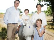 Sweden's Crown Princess Family has fun on Instagram with exercises