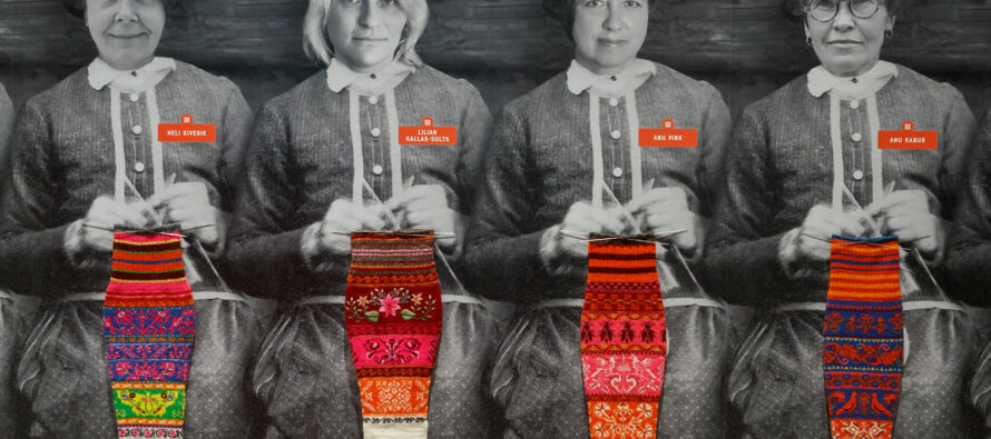 Estonia: The world's biggest exhibition of Muhu stockings