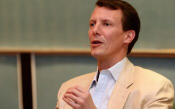 Denmark: Prince Joachim seen for first time since brain surgery